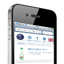 Lithuanian Mineral Water 'Rasa' mobile website design